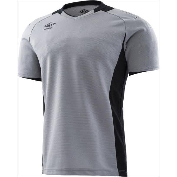 (代引不可)UMBRO(アンブロ) UAS6708GJ-SLV Jr.GKシャツS/S UAS6708GJ 19SS
