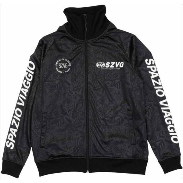 (代引不可)SPAZIO(スパッツィオ) VG0005-02 エンボストレーニングジャケット VG0005 2019年秋冬モデル
