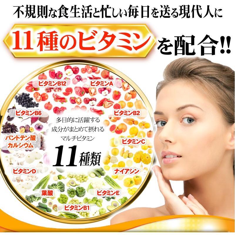 【送料無料】マルチビタミン サプリメント  ローヤルゼリー(約3ヵ月分/90粒入り)|beety|06