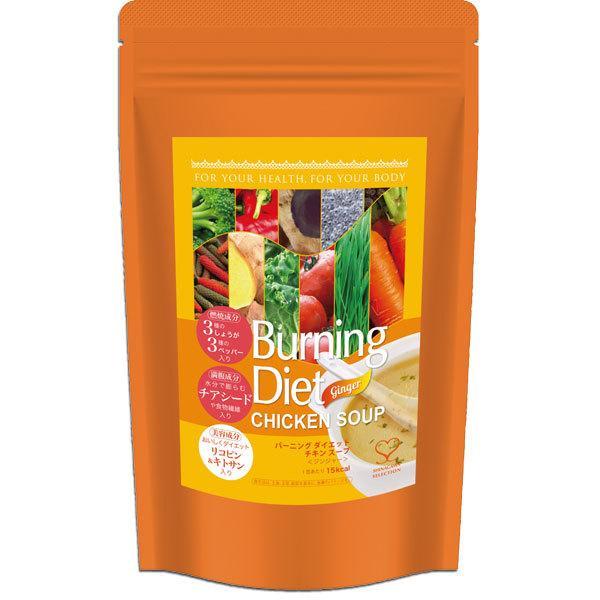 品川セレクション バーニングダイエット チキンスープ <ジンジャー> 31食入り3種のしょうがと3種のペッパー Burning Diet CHICKEN SOUP befile