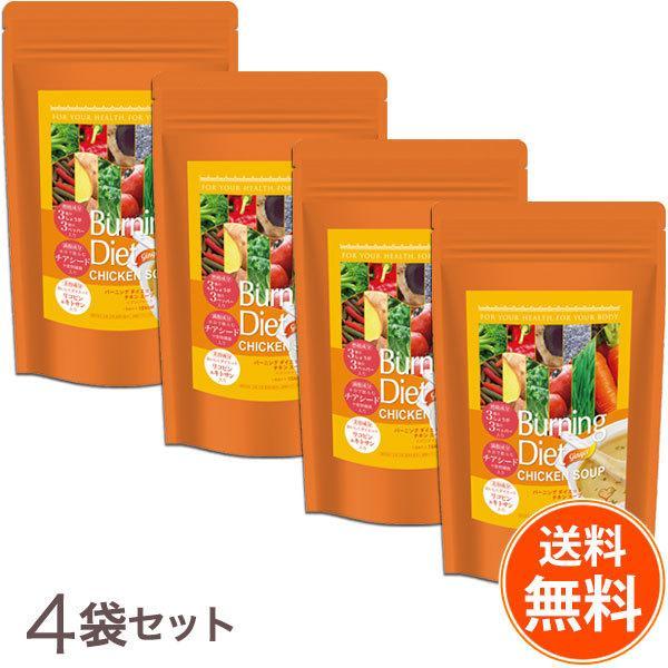 【送料無料4袋セット】品川セレクション バーニングダイエット チキンスープ <ジンジャー>31食入り3種のしょうがと3種のペッパー|befile
