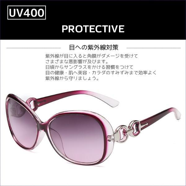 サングラス UV400 ケース付き かっこいい おしゃれ かわいい デート 女子会 旅行 買物 送料無料|befun|12