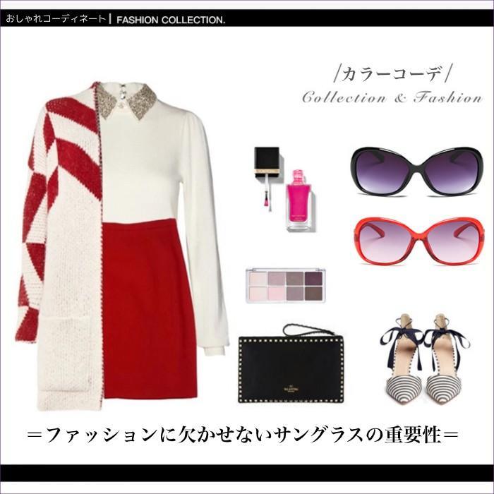 サングラス UV400 ケース付き かっこいい おしゃれ かわいい デート 女子会 旅行 買物 送料無料|befun|10