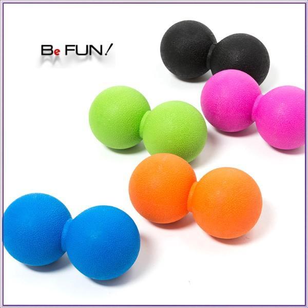 筋膜リリース ボール 筋膜ボール きんまくリリース トリガーポイント ボール マッサージボール 筋肉マッサージ ダブルボール W 約13cm 送料無料|befun|12