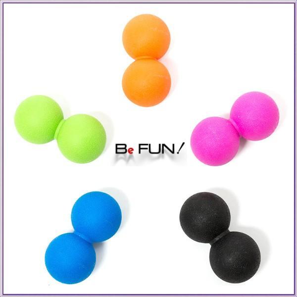 筋膜リリース ボール 筋膜ボール きんまくリリース トリガーポイント ボール マッサージボール 筋肉マッサージ ダブルボール W 約13cm 送料無料|befun|14