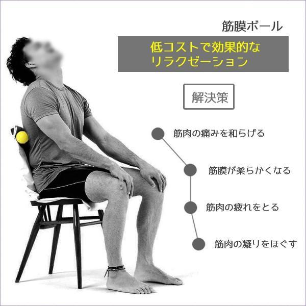 筋膜リリース ボール 筋膜ボール きんまくリリース トリガーポイント ボール マッサージボール 筋肉マッサージ ダブルボール W 約13cm 送料無料|befun|15
