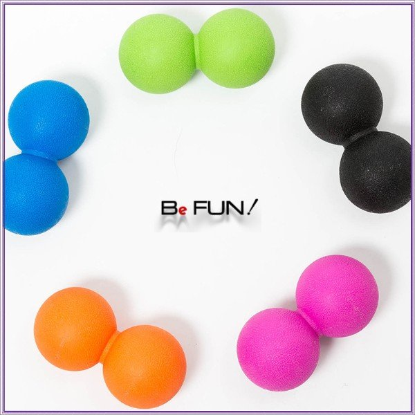筋膜リリース ボール 筋膜ボール きんまくリリース トリガーポイント ボール マッサージボール 筋肉マッサージ ダブルボール W 約13cm 送料無料|befun|16
