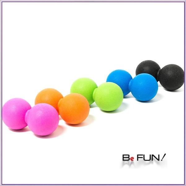 筋膜リリース ボール 筋膜ボール きんまくリリース トリガーポイント ボール マッサージボール 筋肉マッサージ ダブルボール W 約13cm 送料無料|befun|19
