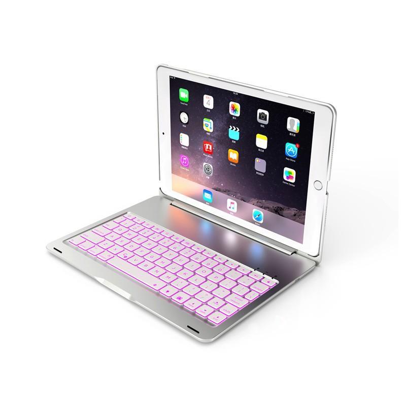 バックライト付き 2020/2019 新型 iPad8 iPad7 10.2 インチ キーボード ケース アイパッド8 Bluetooth キーボード カバー アルミ 一体型|beineix-store|14