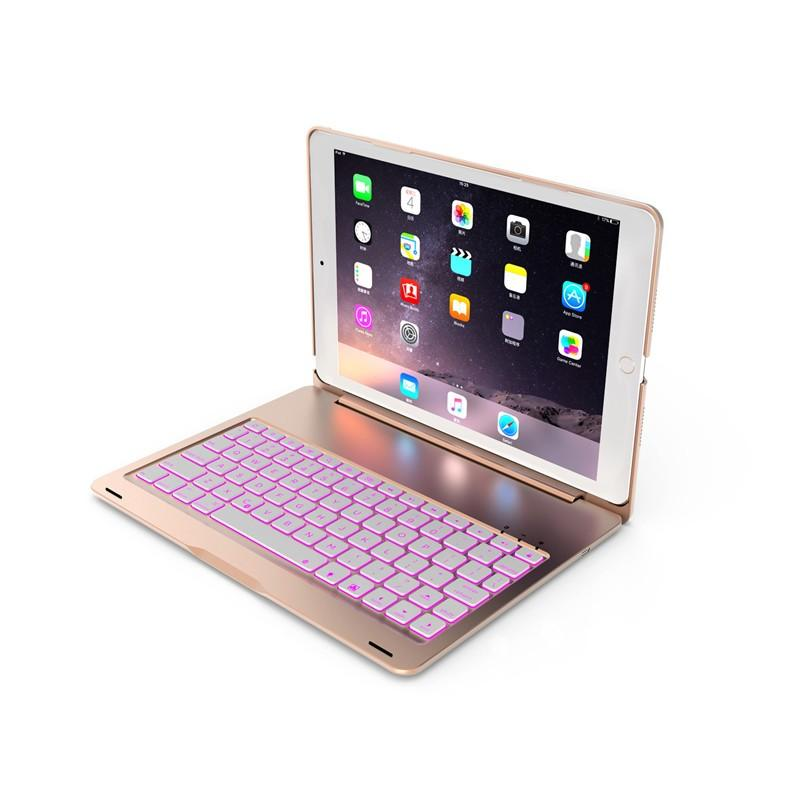 バックライト付き 2020/2019 新型 iPad8 iPad7 10.2 インチ キーボード ケース アイパッド8 Bluetooth キーボード カバー アルミ 一体型|beineix-store|18