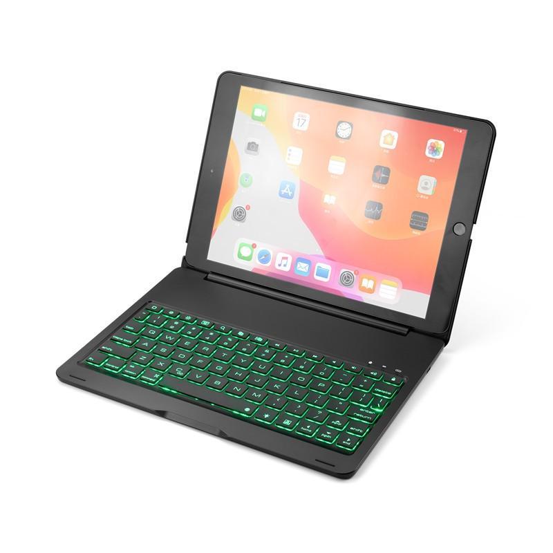 バックライト付き 2020/2019 新型 iPad8 iPad7 10.2 インチ キーボード ケース アイパッド8 Bluetooth キーボード カバー アルミ 一体型|beineix-store|03