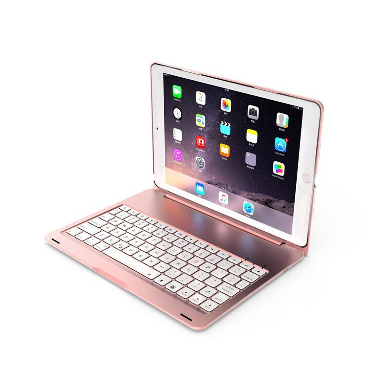 バックライト付き 2020/2019 新型 iPad8 iPad7 10.2 インチ キーボード ケース アイパッド8 Bluetooth キーボード カバー アルミ 一体型|beineix-store|10