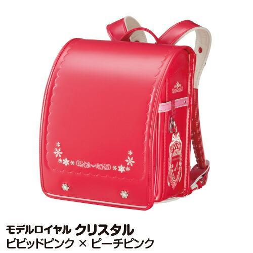 数量限定 旧モデル特別価格 ランドセル 2021 日本最大級の品揃え 女の子 クリスタル ビビッドピンク×ピーチピンク_4965709120489_21 天使のはね 使い勝手の良い モデルロイヤル
