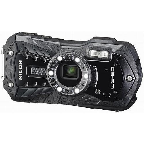 保障 誕生日 お祝い デジタルカメラ RICOH 防水カメラ 防塵 ブラック WG-50BK リコー