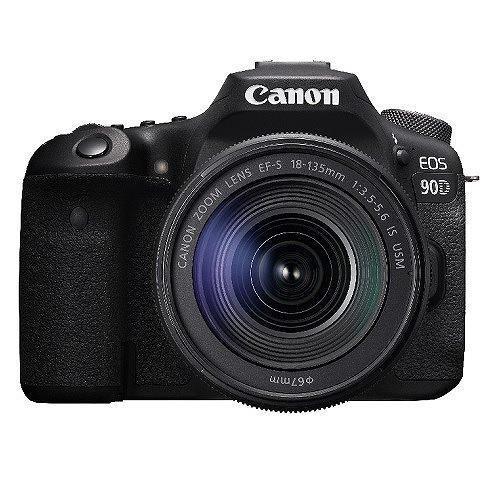 キヤノン 通常便なら送料無料 一眼カメラ 一眼デジカメ 4K動画 防塵 Wi-Fi 新作からSALEアイテム等お得な商品 満載 EOS90DEFS18-135KIT 防滴構造