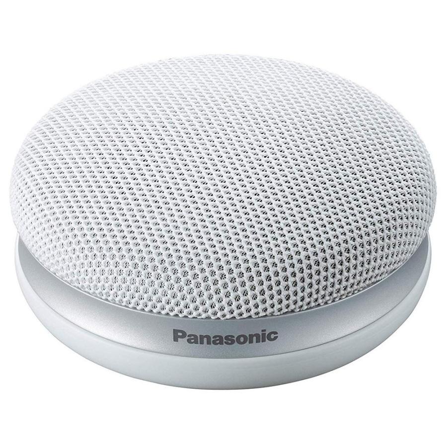 Panasonic パナソニック ポータブルワイヤレススピーカー 「快聴音」機能 かんたん設置 (ホワイト) SC-MC30-W