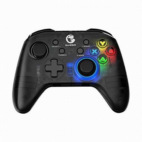 GameSir T4 proコントローラー Bluetooth 2.4GHz USB接続可能 6軸ジャイロセンサー セール特価品 iOS バックライト機能 Android 背面ボタン付き 選択 二重振動 PCに対応