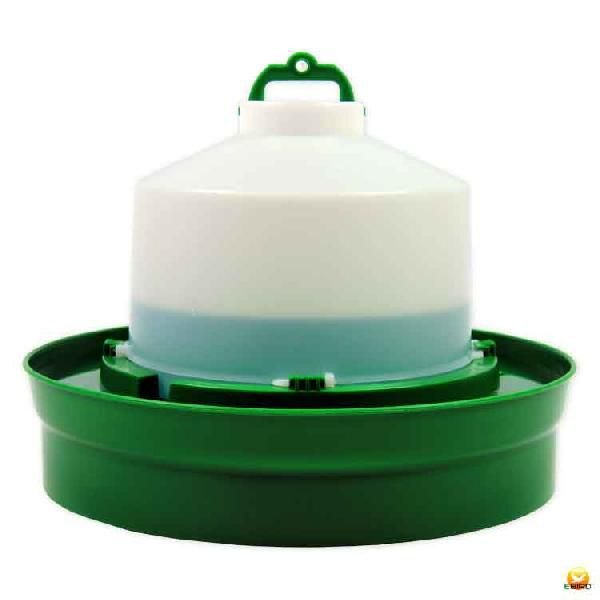 【給水口付】自動給水器 5L(高受皿) 【ニワトリ キジ類用】|belbird
