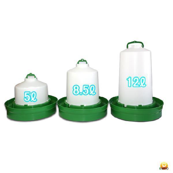 【給水口付】自動給水器 5L(高受皿) 【ニワトリ キジ類用】|belbird|02