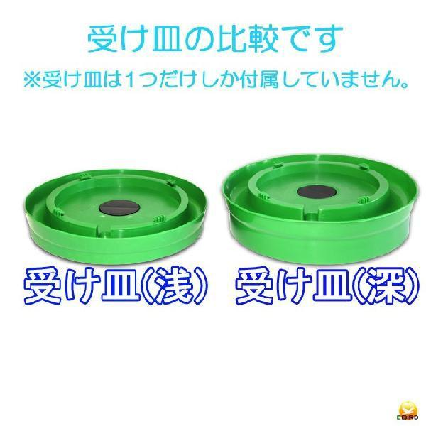 【給水口付】自動給水器 5L(高受皿) 【ニワトリ キジ類用】|belbird|05