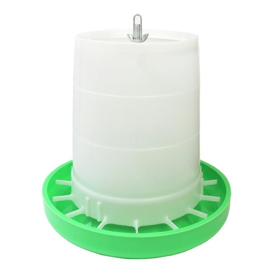 給餌量調節機能付き 鳥用自動給餌器 容量8Kg オンラインショップ キジ類用 永遠の定番モデル ニワトリ ウコッケイ