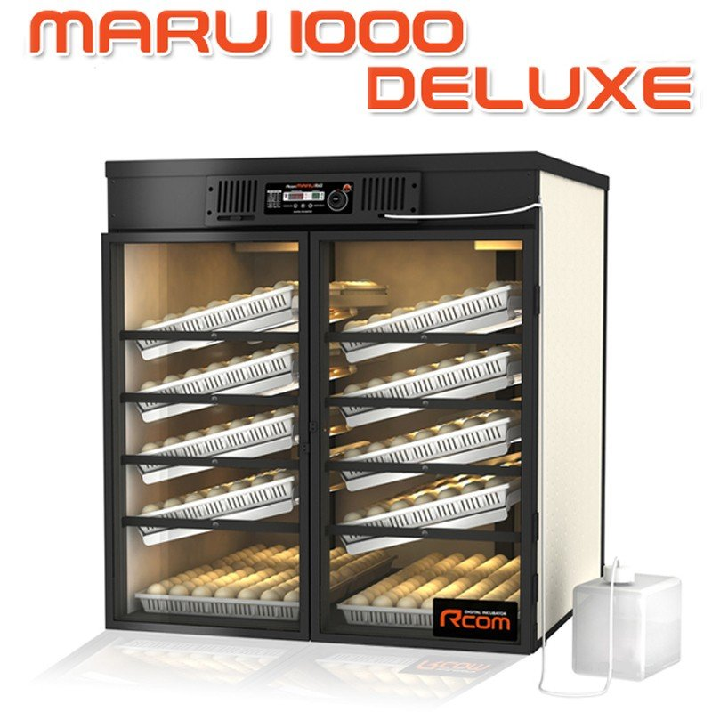 MARU1000-DELUXE 業務用全自動孵卵器(ふ卵器・ふ卵機)