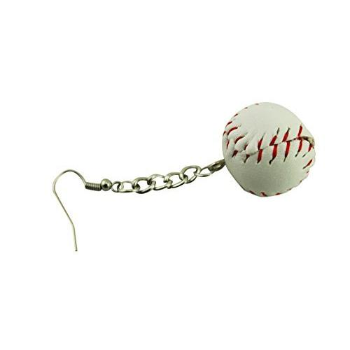 naissant かわいい バット & ボール 型 ピアス 野球 ベースボール 応援 観戦 グッズ|belief-storehonten|03