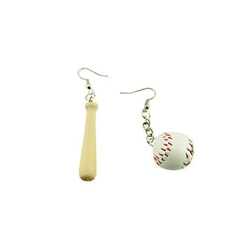naissant かわいい バット & ボール 型 ピアス 野球 ベースボール 応援 観戦 グッズ|belief-storehonten|04