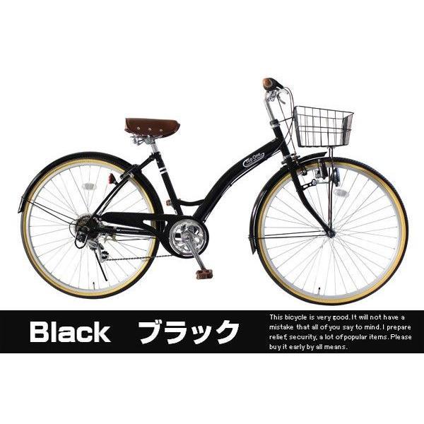 シティサイクル 自転車 ままちゃり 26インチ シマノ6段変速付 カゴ カギ ライト標準装備 激安自転車通販 じてんしゃ T-CCB266 belkisno1 03