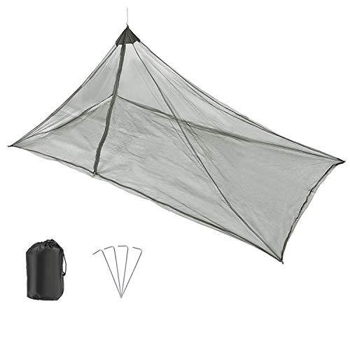 GWHOLE 蚊帳 25%OFF アウトドア モスキートネット 超激安特価 キャンプ用品 固定用ペ? 5面全密閉 ファスナー付きタイプ 夜釣り