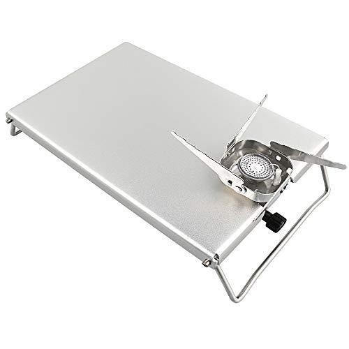 Keepjoy イワタニ ジュニアコンパクトバーナー 遮熱板 テーブル CB-JCB 専用 高強度アルミニウム合金製 折畳式 専?|bell-honpo