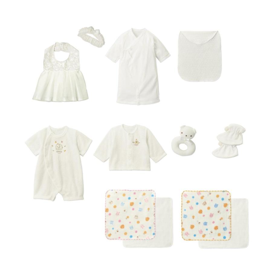 ベビー服 新生児パーティーウェアセット 「リボン&ドレス」