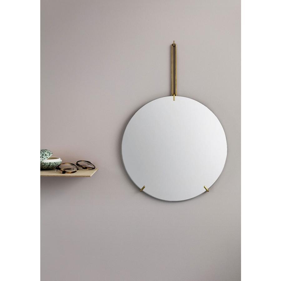 ウォールミラー MOEBE ムーベ WALL MIRROR 直径50cm 直径50cm Brass ブラス 壁掛けミラー 鏡 北欧 WMBR50
