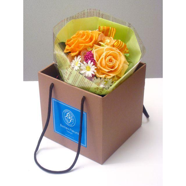 誕生日 2021 花 プレゼント プリザーブドフラワー #バラの花束 【出荷:3営業日】 送料無料 ギフト belles-fleurs 02