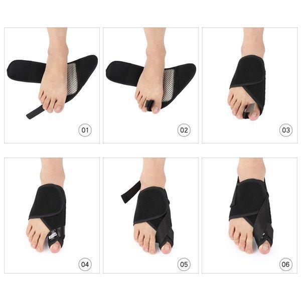 外反母趾 サポーター ソックス 足 保護 ケア用品 左右セット  足指 痛み 軽減 メンズ レディース 男女 兼用 つらい外反母趾対策足の痛みに|bellflowers|20