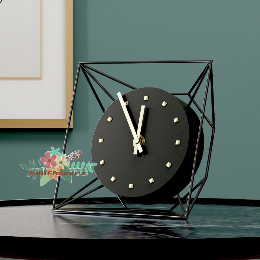 置時計 北欧 おしゃれ 可愛い (人気激安) 静か リビング ミニ 置き時計 結婚祝い かわいい 新築祝い 日本メーカー新品 ギフト 人気 エレガント 上品 静音