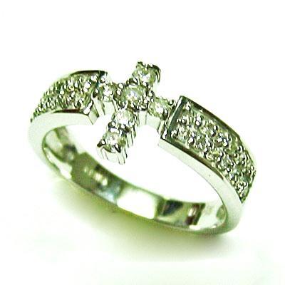 最高級 k18wgダイヤモンドクロスリング, きもの和總:674c247d --- airmodconsu.dominiotemporario.com