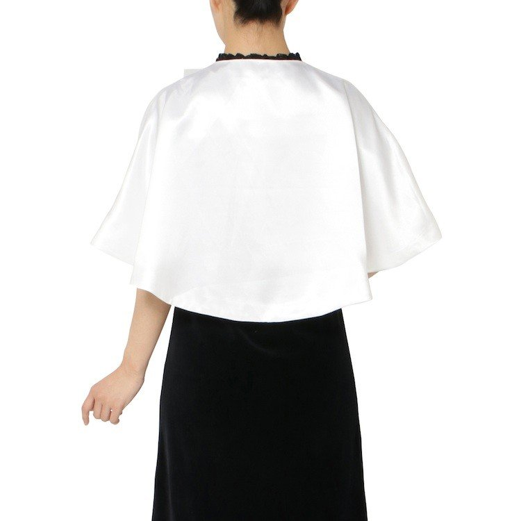 ハンドベル衣装 シンプルリボン 演奏会衣装 聖歌隊合唱コーラス衣装 天使のドレス 白いウェディングコスチューム 女性子供フリーサイズ 送料無料 bellmintshop 05