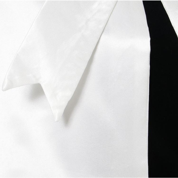 ハンドベル衣装 シンプルリボン 演奏会衣装 聖歌隊合唱コーラス衣装 天使のドレス 白いウェディングコスチューム 女性子供フリーサイズ 送料無料 bellmintshop 10