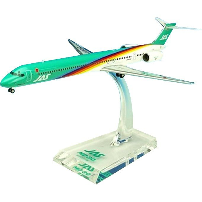 JAL/日本航空 JAS MD-90 4号機 ダイキャストモデル 1/200スケール BJE3037(玩具)