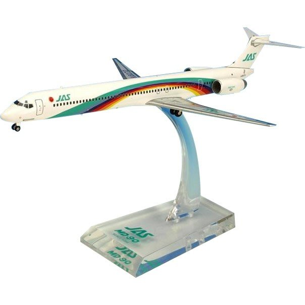 JAL/日本航空 JAS MD-90 7号機 ダイキャストモデル 1/200スケール BJE3040(玩具)
