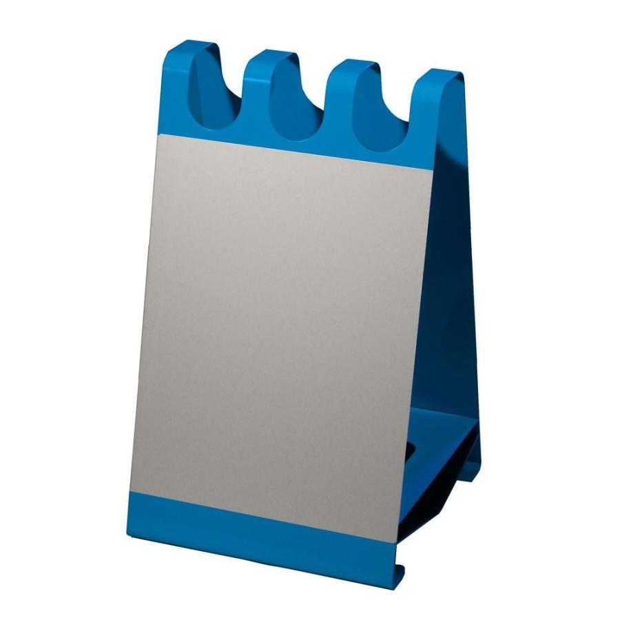 看板+傘立て ホワイトボード 店舗用 カフェ サロン 傘入れ 玄関 スタイリッシュ シンプル屋外 洋風サインボード型 ホワイトボードシート付ブルー