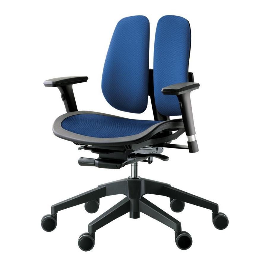 回転椅子 α60N (MESH 青)(家具 イス テーブル)
