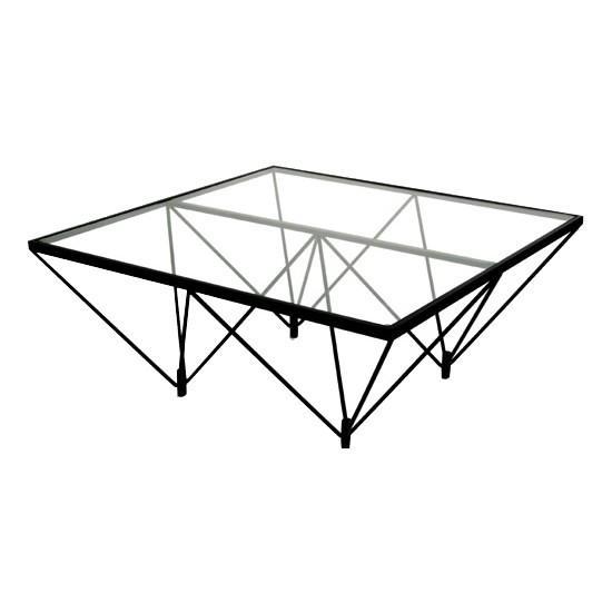 リビングテーブル おしゃれ モダン 四角 ガラステーブル