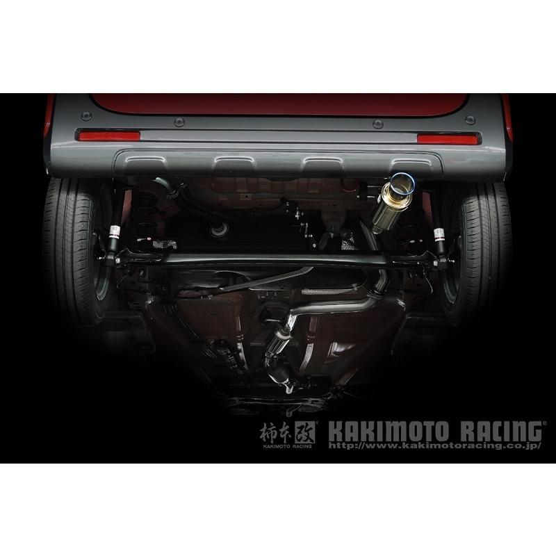 柿本 柿本改 マフラー GTbox 06&S スペーシアカスタム DAA 4AA-MK53S ハイブリッドXSターボ S44335 柿本レーシング bellwork 08