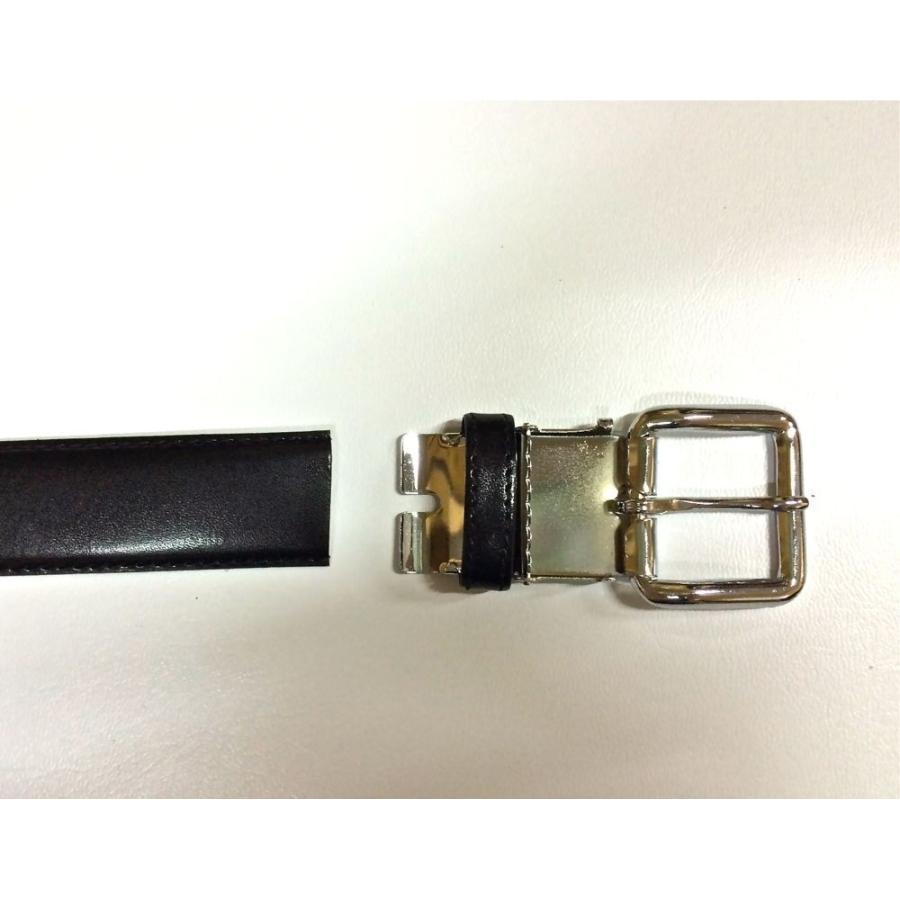 ベルト メンズ 学生用ベルト30ミリ 定番 合成皮革 スクールベルト 学生服用 学生服 皮革 Mサイズ 105センチ ワンコインでお届け|beltokuda|05