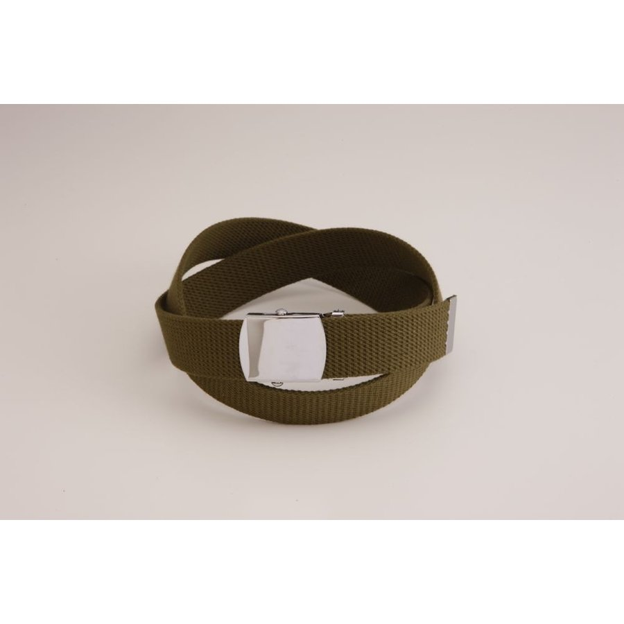 Lサイズ  ガチャベルト GIベルト 32ミリ メンズ ベルト 布ベルト くすみにくい クロームメッキ 仕様 選べる ナイロン 綿 120センチ 自社生産 日本製 おしゃれ|beltokuda|05