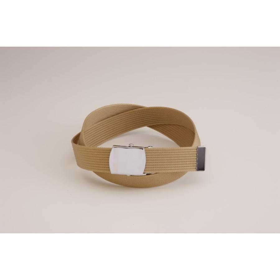 Lサイズ  ガチャベルト GIベルト 32ミリ メンズ ベルト 布ベルト くすみにくい クロームメッキ 仕様 選べる ナイロン 綿 120センチ 自社生産 日本製 おしゃれ|beltokuda|06