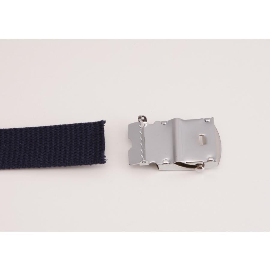Lサイズ  ガチャベルト GIベルト 32ミリ メンズ ベルト 布ベルト くすみにくい クロームメッキ 仕様 選べる ナイロン 綿 120センチ 自社生産 日本製 おしゃれ|beltokuda|08