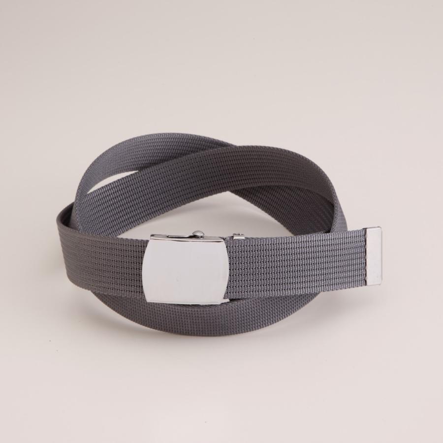 Lサイズ  ガチャベルト GIベルト 32ミリ メンズ ベルト 布ベルト くすみにくい クロームメッキ 仕様 選べる ナイロン 綿 120センチ 自社生産 日本製 おしゃれ|beltokuda|30
